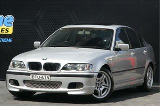 2003 BMW 3 Series E46 MY2002 318i Steptronic Silver 5 Speed Sports Automatic Sedan.
