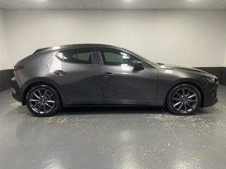 2019 Mazda 3 BP2H76 G20 SKYACTIV-MT Evolve Machine Grey 6 Speed Manual Hatchback