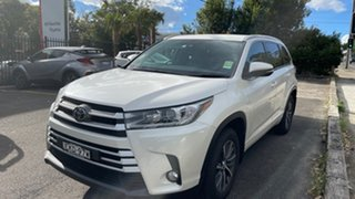 2019 Toyota Kluger GSU55R GXL AWD Crystal Pearl 8 Speed Sports Automatic Wagon.