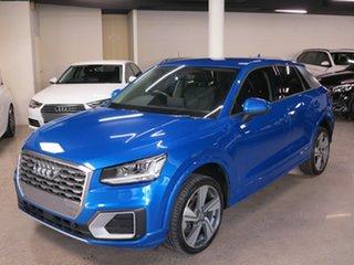 2017 Audi Q2 GA MY17 Sport S Tronic Quattro Blue 7 Speed Sports Automatic Dual Clutch Wagon.