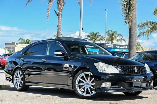 Used Toyota Crown Cheltenham, 2007 Toyota Crown Athlete Black 6 Speed Automatic Sedan
