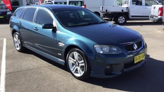 2011 Holden Commodore VE II SV6 Sportwagon Blue 6 Speed Sports Automatic Wagon