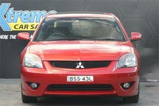 2005 Mitsubishi 380 DB VR-X Red 5 Speed Sports Automatic Sedan.