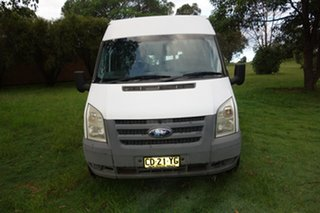 2010 Ford Transit VM High Roof LWB White 6 Speed Manual Van.