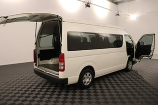 2012 Toyota HiAce TRH223R MY11 Commuter High Roof Super LWB French Vanilla 4 speed Automatic Bus
