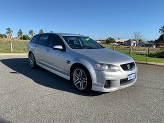 2010 Holden Commodore VE II SV6 Silver 6 Speed Automatic Sportswagon.