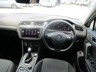 2019 Volkswagen Tiguan 5NA MY20 Allspace 132 TSI Comfortline Pure White 7 Speed Auto Direct Shift