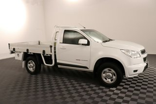2016 Holden Colorado RG MY16 LS White 6 speed Manual Cab Chassis