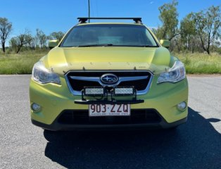 2014 Subaru XV G4X MY14 2.0i Lineartronic AWD Green 6 Speed Constant Variable Wagon.