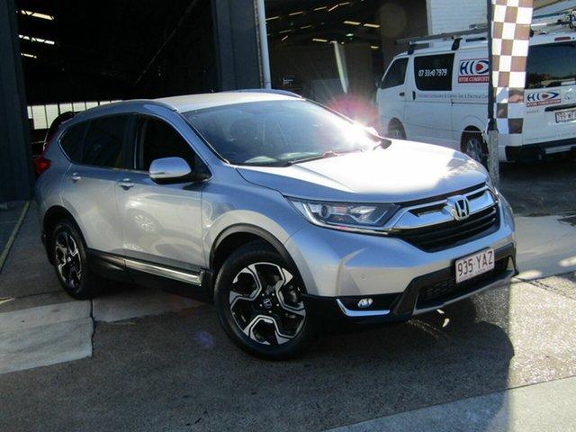 Used Honda CR-V RW MY18 VTi-S FWD Moorooka, 2018 Honda CR-V RW MY18 VTi-S FWD Silver 1 Speed Constant Variable Wagon