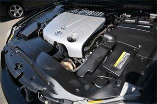 2007 Toyota Crown Athlete Black 6 Speed Automatic Sedan.