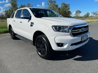 2020 Ford Ranger PX MkIII 2020.75MY XLT Arctic White 6 Speed Sports Automatic Double Cab Pick Up.