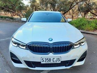 2019 BMW 3 Series G20 320d Steptronic M Sport White 8 Speed Sports Automatic Sedan.