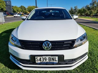 2016 Volkswagen Jetta 1B MY16 118TSI Trendline White 6 Speed Manual Sedan