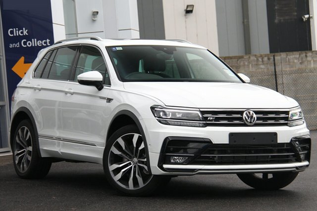 New Volkswagen Tiguan 5N MY20 162TSI DSG 4MOTION Highline Port Melbourne, 2020 Volkswagen Tiguan 5N MY20 162TSI DSG 4MOTION Highline White 7 Speed