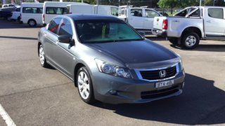 2010 Honda Accord 8th Gen MY10 VTi-L Grey 5 Speed Sports Automatic Sedan