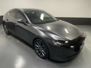 2019 Mazda 3 BP2H76 G20 SKYACTIV-MT Evolve Machine Grey 6 Speed Manual Hatchback.