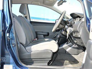 2007 Nissan Tiida C11 ST Blue 4 Speed Automatic Sedan