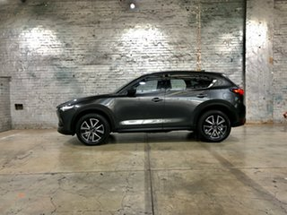 2018 Mazda CX-5 KF4WLA GT SKYACTIV-Drive i-ACTIV AWD Grey 6 Speed Sports Automatic Wagon