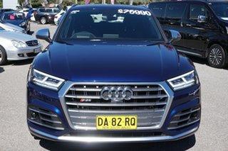 2017 Audi SQ5 FY MY17 Tiptronic Quattro Blue 8 Speed Sports Automatic Wagon.