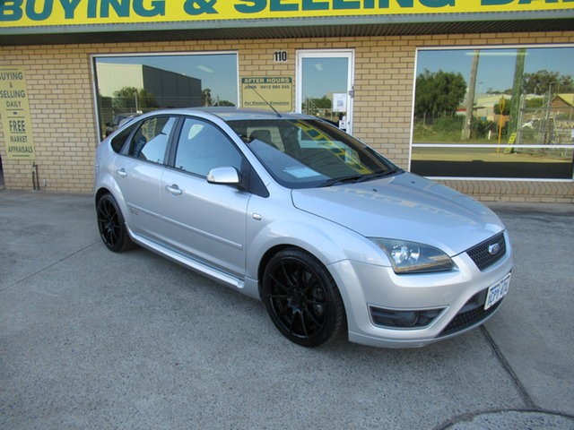 Used Ford Focus LS XR5 Turbo Mandurah, 2007 Ford Focus LS XR5 Turbo Silver 6 Speed Manual Hatchback