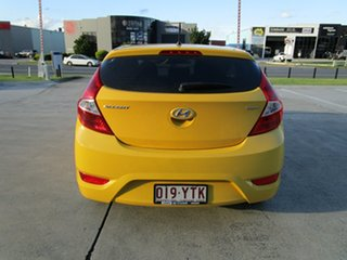 2018 Hyundai Accent RB6 MY18 Sport Yellow 6 Speed Manual Hatchback