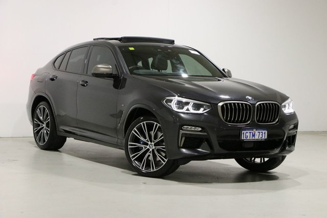 Used BMW X4 G02 M40I Bentley, 2019 BMW X4 G02 M40I Grey 8 Speed Auto Steptronic Sport Wagon