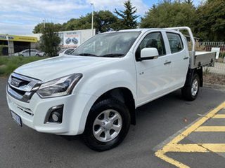 2017 Isuzu D-MAX MY17 LS-M Crew Cab White 6 Speed Sports Automatic Utility