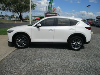 2018 Mazda CX-5 KF4W2A Akera SKYACTIV-Drive i-ACTIV AWD White 6 Speed Sports Automatic Wagon.