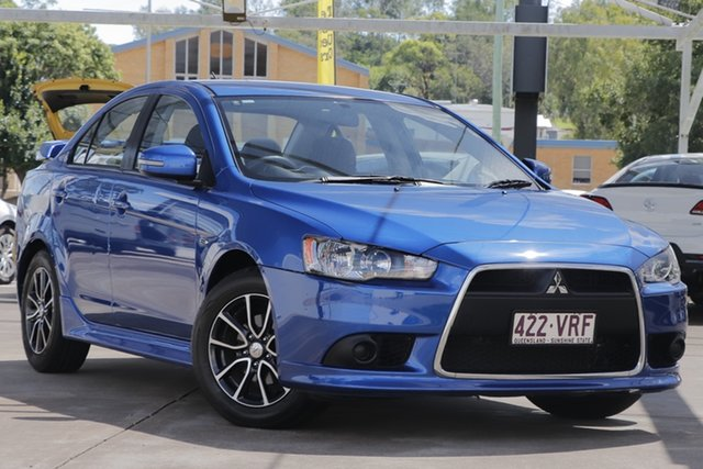Used Mitsubishi Lancer CJ MY15 ES Sport Bundamba, 2015 Mitsubishi Lancer CJ MY15 ES Sport Blue 6 Speed Constant Variable Sedan