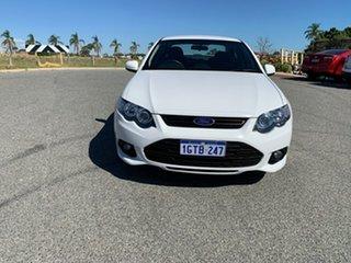 2014 Ford Falcon FG MK2 XR6 White 6 Speed Auto Seq Sportshift Sedan.