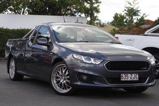 2016 Ford Falcon FG X XR6 Ute Super Cab Grey 6 Speed Manual Utility.
