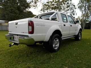 2011 Nissan Navara D22 MY08 ST-R (4x4) White 5 Speed Manual Dual Cab Pick-up