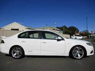 2012 Ford Falcon FG MkII XR6 White 6 Speed Sports Automatic Sedan