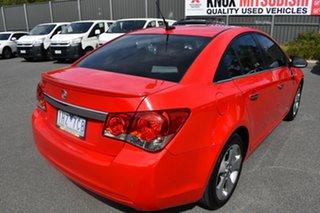 2016 Holden Cruze JH Series II MY16 Z-Series Red/Black 6 Speed Sports Automatic Sedan.