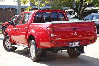 2013 Mitsubishi Triton MN MY14 GLX Double Cab Red 4 Speed Sports Automatic Utility