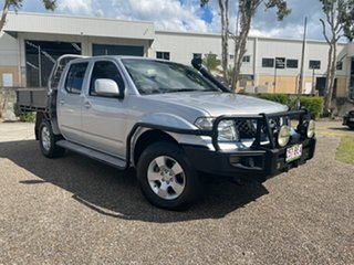 2011 Nissan Navara D40 ST (4x4) Silver 6 Speed Manual Dual Cab Pick-up.