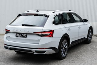 2020 Skoda Superb NP MY20.5 200TSI DSG Scout White 7 Speed Sports Automatic Dual Clutch Wagon.