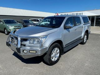 2012 Holden Colorado RG MY13 LTZ Crew Cab 4x2 Silver 6 Speed Sports Automatic Utility