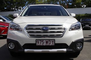 2015 Subaru Outback B6A MY15 2.5i CVT AWD Premium White 6 Speed Constant Variable Wagon