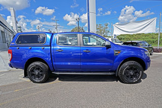 2013 Ford Ranger PX XLS Double Cab Blue 6 Speed Manual Utility