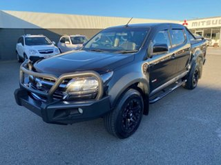 2017 Holden Colorado RG MY18 LS Pickup Crew Cab Black 6 Speed Sports Automatic Utility