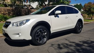 2014 Subaru XV MY14 2.0I-L White 6 Speed Manual Wagon.