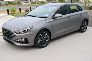 2021 Hyundai i30 PD.V4 MY21 Elite Fluidic Metal 6 Speed Sports Automatic Hatchback.