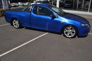 2012 Ford Falcon FG MkII XR6 Ute Super Cab Blue 6 Speed Sports Automatic Utility.