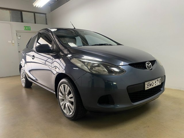 Used Mazda 2 DE Neo Phillip, 2010 Mazda 2 DE Neo Grey 5 Speed Manual Hatchback