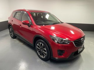 2016 Mazda CX-5 KE1032 Grand Touring SKYACTIV-Drive i-ACTIV AWD Red 6 Speed Sports Automatic Wagon.