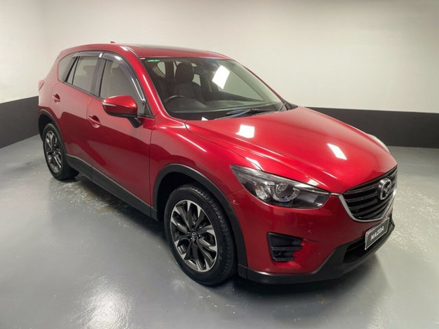 Used Mazda CX-5 KE1032 Grand Touring SKYACTIV-Drive i-ACTIV AWD Hamilton, 2016 Mazda CX-5 KE1032 Grand Touring SKYACTIV-Drive i-ACTIV AWD Red 6 Speed Sports Automatic Wagon