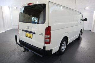 2017 Toyota HiAce KDH201R LWB White 4 Speed Automatic Van