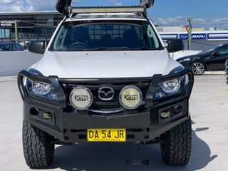 2019 Mazda BT-50 UR0YG1 XT White 6 Speed Sports Automatic Utility
